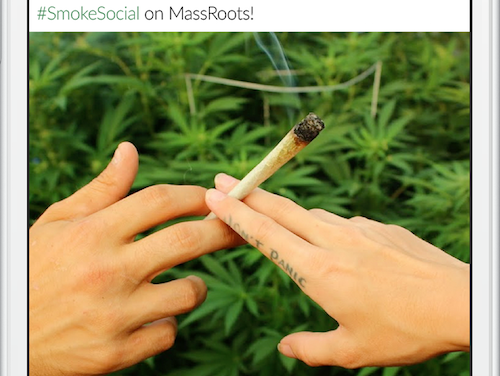 Cannabis Company MassRoots Rejected By NASDAQ